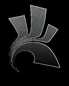 Huidige logo van stichting Stad op een berg
